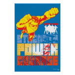 Justice League Strength. Power. Courage. Character Poster