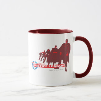Justice League Strength. Power. Courage. Ensemble Mug