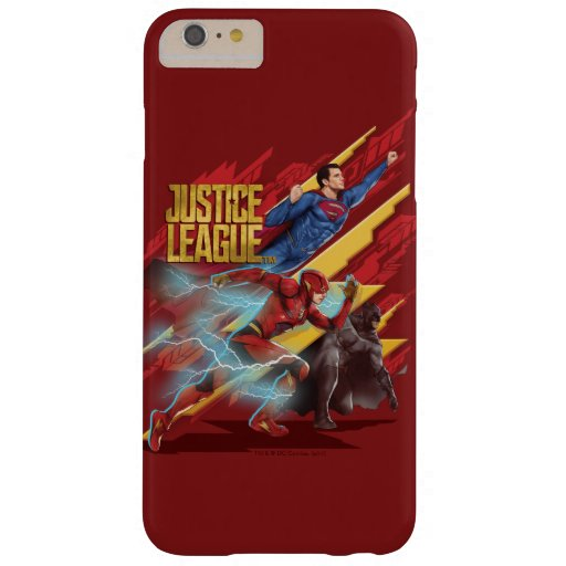 Justice League | Superman, Flash, & Batman Badge Barely There iPhone 6 Plus Case