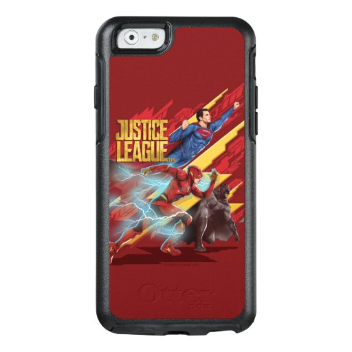 Justice League | Superman, Flash, & Batman Badge OtterBox iPhone 6/6s Case