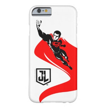 Justice League | Superman Flying Noir Pop Art Barely There iPhone 6 Case