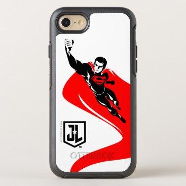 Justice League | Superman Flying Noir Pop Art OtterBox Symmetry iPhone 8/7 Case