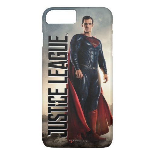 Justice League | Superman On Battlefield iPhone 8 Plus/7 Plus Case