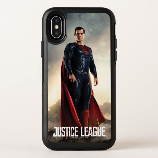 Justice League | Superman On Battlefield OtterBox Symmetry iPhone X Case