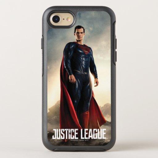 Justice League | Superman On Battlefield OtterBox Symmetry iPhone SE/8/7 Case