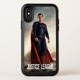 Justice League | Superman On Battlefield OtterBox Symmetry iPhone X Case