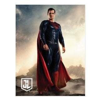 Justice League | Superman On Battlefield Postcard