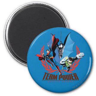 Justice League Team Power Magnet