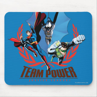 Justice League Team Power Mouse Pad