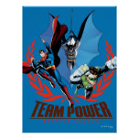 Justice League Team Power Poster