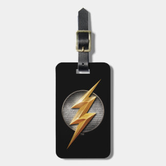 Justice League | The Flash Metallic Bolt Symbol Luggage Tag
