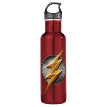 Justice League | The Flash Metallic Bolt Symbol Water Bottle