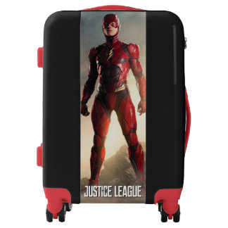 Justice League | The Flash On Battlefield Luggage