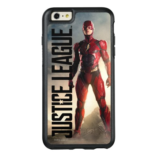 Justice League | The Flash On Battlefield OtterBox iPhone 6/6s Plus Case