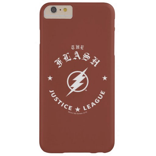 Justice League | The Flash Retro Lightning Emblem Barely There iPhone 6 Plus Case