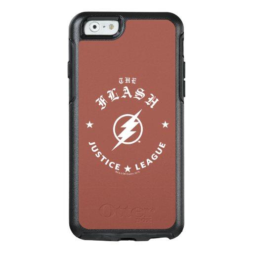 Justice League | The Flash Retro Lightning Emblem OtterBox iPhone 6/6s Case