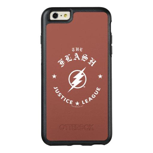 Justice League | The Flash Retro Lightning Emblem OtterBox iPhone 6/6s Plus Case