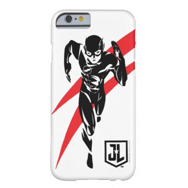 Justice League   The Flash Running Noir Pop Art Barely There iPhone 6 Case