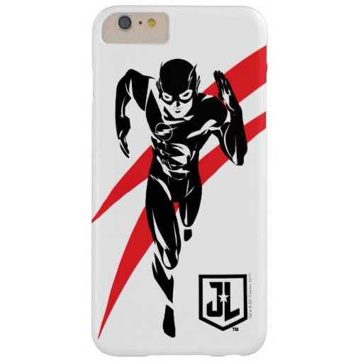 Justice League | The Flash Running Noir Pop Art Barely There iPhone 6 Plus Case