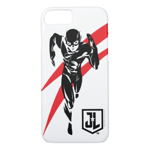 Justice League | The Flash Running Noir Pop Art iPhone 8/7 Case