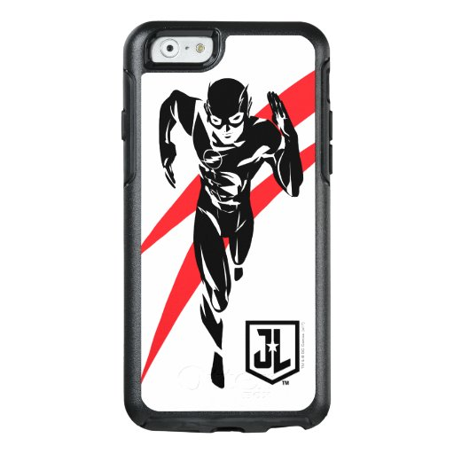 Justice League | The Flash Running Noir Pop Art OtterBox iPhone 6/6s Case