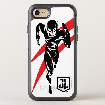 Justice League   The Flash Running Noir Pop Art OtterBox Symmetry iPhone 8/7 Case