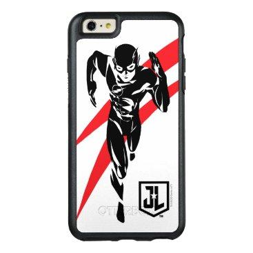 Justice League   The Flash Running Noir Pop Art OtterBox iPhone 6/6s Plus Case