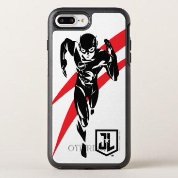 Justice League   The Flash Running Noir Pop Art OtterBox Symmetry iPhone 8 Plus/7 Plus Case