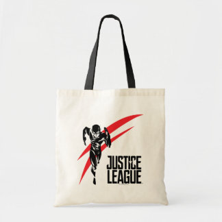 Justice League | The Flash Running Noir Pop Art Tote Bag