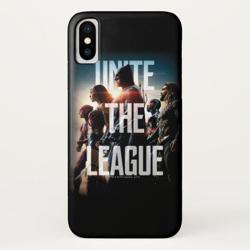 Justice League | Unite The League iPhone X Case