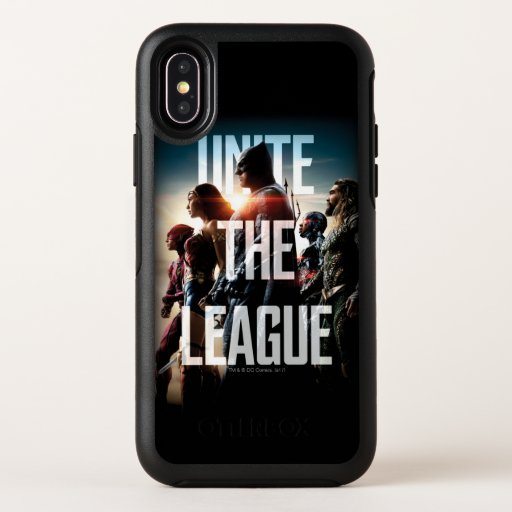 Justice League | Unite The League OtterBox Symmetry iPhone X Case