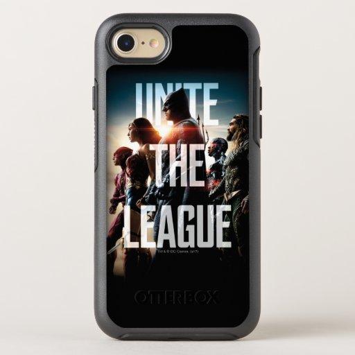 Justice League | Unite The League OtterBox Symmetry iPhone SE/8/7 Case