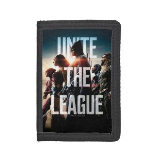 Justice League   Unite The League Tri-fold Wallet