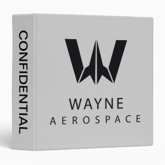 Justice League   Wayne Aerospace Logo Binder