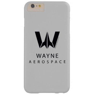 Justice League | Wayne Aerospace Logo Barely There iPhone 6 Plus Case