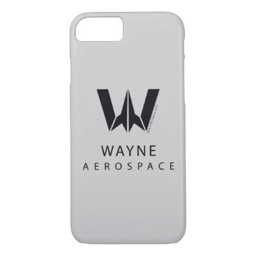 Justice League | Wayne Aerospace Logo iPhone 8/7 Case