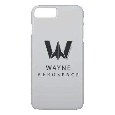 Justice League | Wayne Aerospace Logo iPhone 8 Plus/7 Plus Case