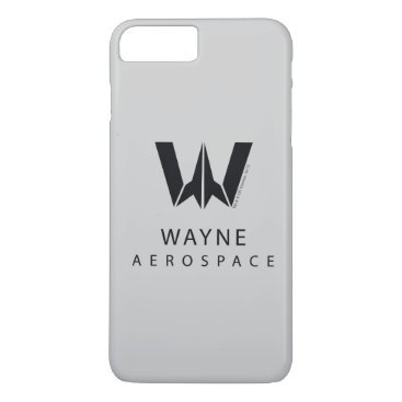 Justice League | Wayne Aerospace Logo iPhone 8 Plus/7 Plus Case