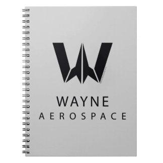 Justice League | Wayne Aerospace Logo Notebook