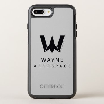 Justice League | Wayne Aerospace Logo OtterBox Symmetry iPhone 8 Plus/7 Plus Case