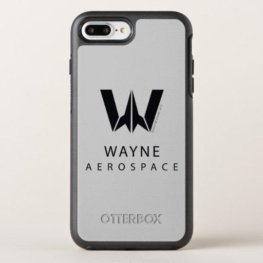 Justice League | Wayne Aerospace Logo OtterBox Symmetry iPhone 8 Plus/7 Plus Case