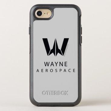 Justice League | Wayne Aerospace Logo OtterBox Symmetry iPhone 8/7 Case