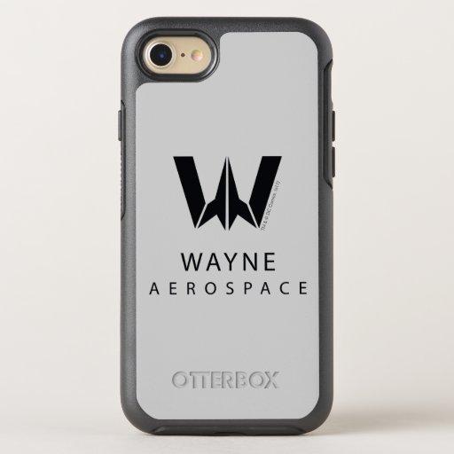 Justice League | Wayne Aerospace Logo OtterBox Symmetry iPhone SE/8/7 Case