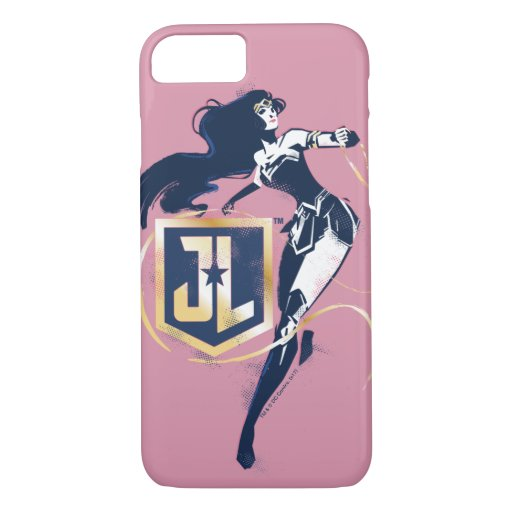 Justice League | Wonder Woman & JL Icon Pop Art iPhone 8/7 Case