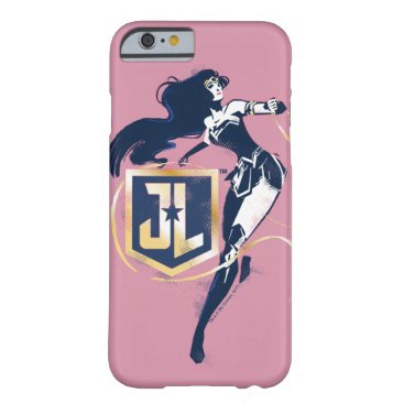 Justice League   Wonder Woman & JL Icon Pop Art Barely There iPhone 6 Case