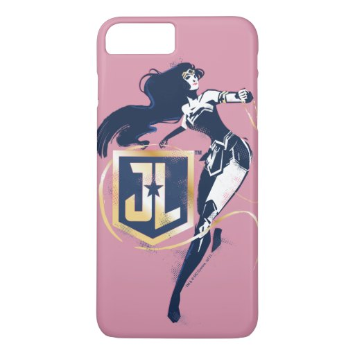 Justice League | Wonder Woman & JL Icon Pop Art iPhone 8 Plus/7 Plus Case