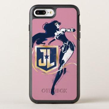 Justice League   Wonder Woman & JL Icon Pop Art OtterBox Symmetry iPhone 8 Plus/7 Plus Case