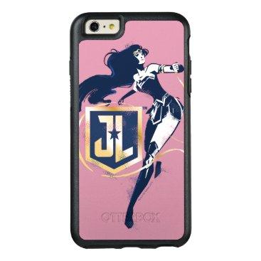 Justice League   Wonder Woman & JL Icon Pop Art OtterBox iPhone 6/6s Plus Case