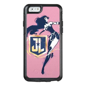 Justice League   Wonder Woman & JL Icon Pop Art OtterBox iPhone 6/6s Case