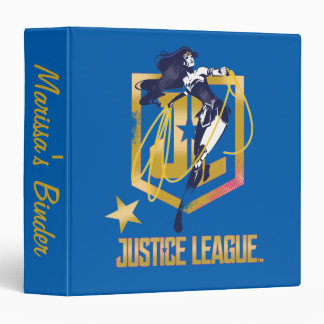Justice League | Wonder Woman JL Logo Pop Art Binder